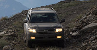 2009 Toyota Land Cruiser, Front View, exterior, manufacturer