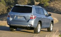 2009 Toyota Highlander Hybrid, Back Right Quarter View, exterior, manufacturer