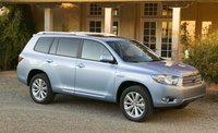 2009 Toyota Highlander Hybrid, Front Right Quarter View, exterior, manufacturer