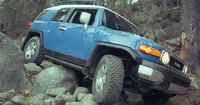 2009 Toyota FJ Cruiser, Front Right Quarter View, exterior, manufacturer
