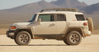 2009 Toyota FJ Cruiser, Left Side View, exterior, manufacturer