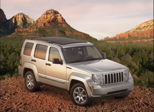 2009 Jeep Commander, Front Right Quarter View, exterior, manufacturer