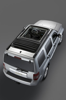 2009 Jeep Liberty, Overhead View, manufacturer, exterior