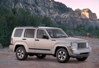 2009 Jeep Liberty, Front Right Quarter View, manufacturer, exterior