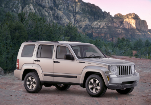 2009 Jeep Liberty, Front Right Quarter View, exterior, manufacturer