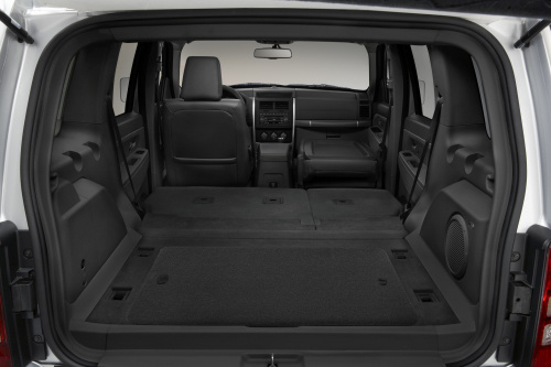2009 Jeep Liberty, Interior Cargo View, interior, manufacturer