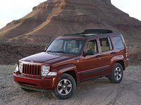 2009 Jeep Liberty, Front Left Quarter View, exterior, manufacturer, gallery_worthy
