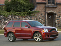 2009 Jeep Grand Cherokee SRT8, Front Right Quarter View, exterior, manufacturer