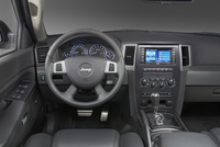 2009 Jeep Grand Cherokee SRT8, Interior Dash View, manufacturer, interior