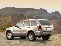 2009 Jeep Grand Cherokee, Back Left Quarter View, manufacturer, exterior