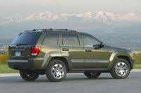 2009 Jeep Grand Cherokee, Back Right Quarter View, exterior, manufacturer