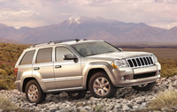 2009 Jeep Grand Cherokee, Front Right Quarter View, exterior, manufacturer