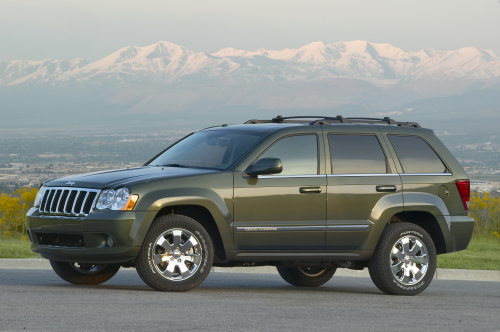 2009 Jeep Grand Cherokee, Left Side View, manufacturer, exterior