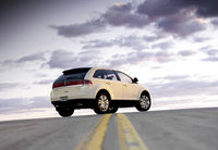 2009 Lincoln MKX, Back Right Quarter View, exterior, manufacturer