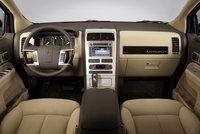 2009 Lincoln MKX, Interior Front Dash View, interior, manufacturer