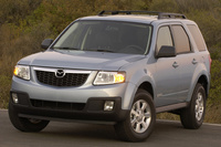 2009 Mazda Tribute, Front Left Quarter View, exterior, manufacturer