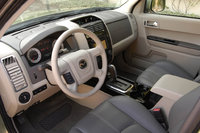 2009 Mazda Tribute, Interior Front Seat View, interior, manufacturer