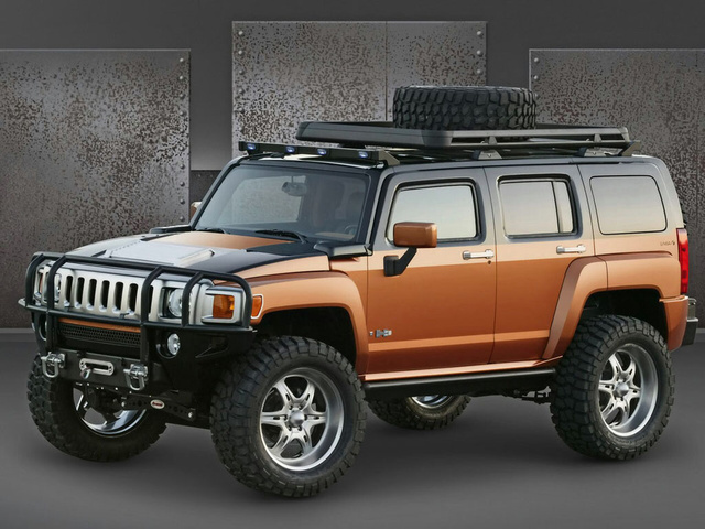 Picture of 2009 Hummer H3, exterior, gallery_worthy