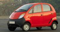 2008 Tata Nano, Front Left Quarter View, exterior, manufacturer