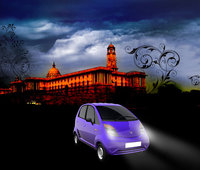2008 Tata Nano, Front Right Quarter View, exterior, manufacturer