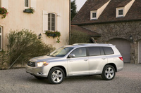 2009 Toyota Highlander, Front Left Quarter View, manufacturer, exterior