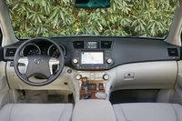 2009 Toyota Highlander, Interior Front View, interior, manufacturer, gallery_worthy