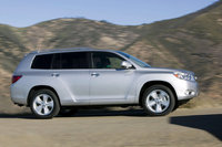 2009 Toyota Highlander, Right Side View, exterior, manufacturer