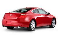 2009 Honda Accord Coupe, Back Right Quarter View, manufacturer, exterior