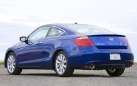 2009 Honda Accord Coupe, Back left Quarter View, manufacturer, exterior