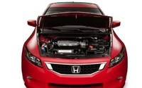 2009 Honda Accord Coupe, Engine View, manufacturer, exterior, interior
