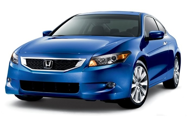 2009 Honda Accord Coupe, Front Left Quarter View, exterior, manufacturer, gallery_worthy