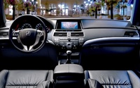 2009 Honda Accord Coupe, Interior Front View, interior, manufacturer