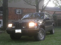 1995 Jeep Grand Cherokee Limited 4WD, 1995 Jeep Grand Cherokee 4 Dr Limited 4WD SUV picture, exterior
