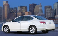 2009 Honda Accord, Back Left Quarter View, manufacturer, exterior