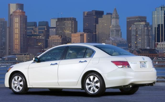 2009 Honda Accord, Back Left Quarter View, exterior, manufacturer