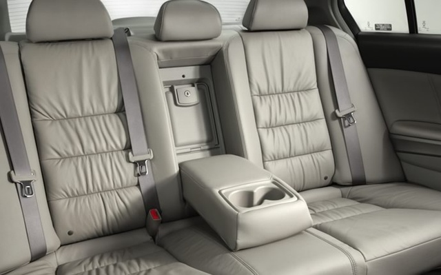 2009 Honda Accord, Interior Back Seat View, interior, manufacturer