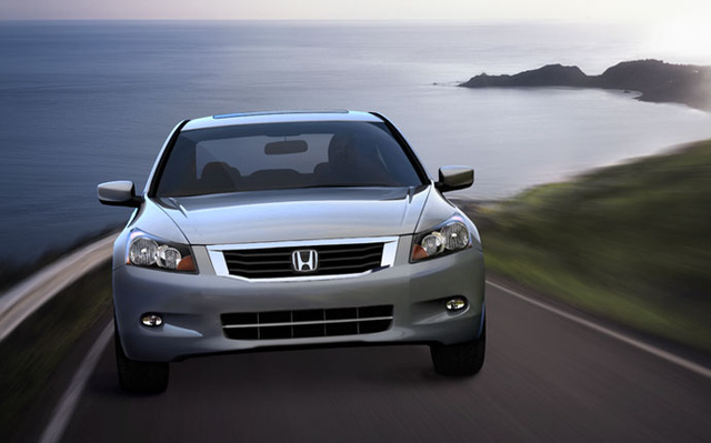 2009 Honda Accord, Front View, exterior, manufacturer, gallery_worthy
