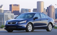 2009 Honda Accord, Front Left Quarter View, manufacturer, exterior