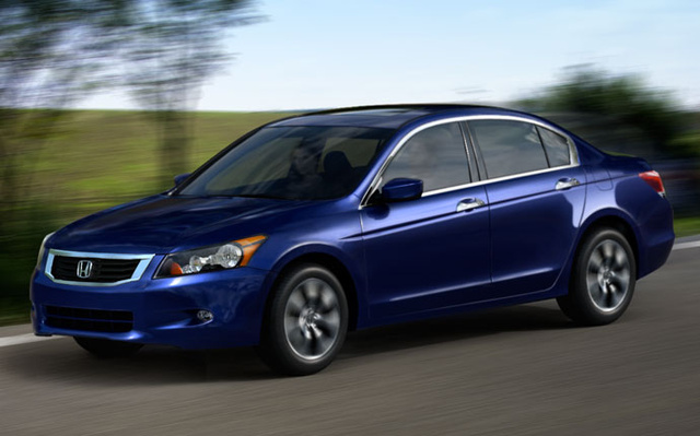 2009 Honda Accord, Front Left Quarter View, exterior, manufacturer, gallery_worthy