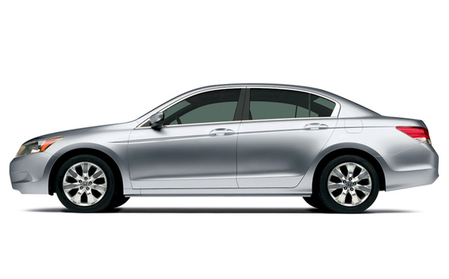 2009 Honda Accord, Left Side View, exterior, manufacturer