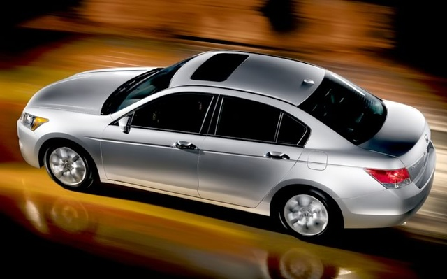 2009 Honda Accord, Overhead Left Side View, exterior, manufacturer