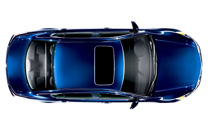 2009 Honda Accord, Overhead View, manufacturer, exterior