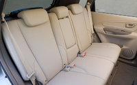2009 Hyundai Tucson, Interior Backseat View, interior, manufacturer