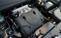 2009 Hyundai Tucson, Engine View, interior, engine, manufacturer