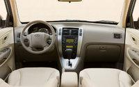2009 Hyundai Tucson, Interior Front View, interior, manufacturer