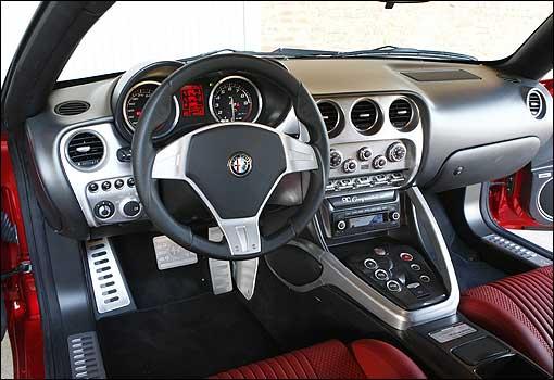 2009 Alfa Romeo 8C Competizione picture, interior