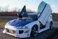 1999 Mitsubishi Eclipse GSX Turbo AWD, 1999 Mitsubishi Eclipse 2 Dr GSX Turbo AWD Hatchback picture, exterior