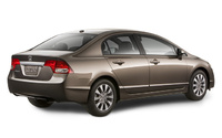 2009 Honda Civic, Back Right Quarter View, manufacturer, exterior