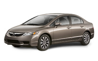 2009 Honda Civic, Front Left Quarter View, exterior, manufacturer