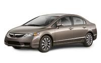 2009 Honda Civic, Front Left Quarter View, exterior, manufacturer